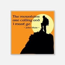 Mountains Calling Sticker