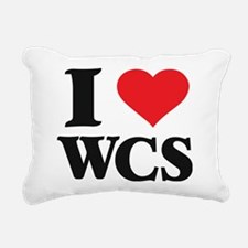 I Love West Coast Swing Rectangular Canvas Pillow