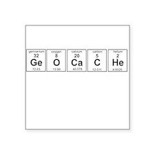 Geocache periodic element Sticker