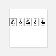 Geocache periodic element Sticker