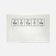 Geocache periodic element Magnets