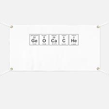 Geocache periodic element Banner