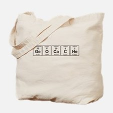 Geocache periodic element Tote Bag