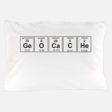 Geocache periodic element Pillow Case