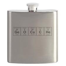 Geocache periodic element Flask