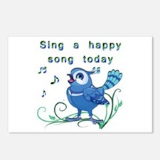 Sing a Happy Song- Postcards (Package of 8)