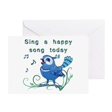 Sing a Happy Song- Greeting Card
