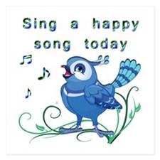 Sing a Happy Song- Invitations