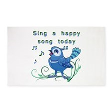 Sing a Happy Song- 3'x5' Area Rug