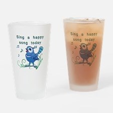 Sing a Happy Song- Drinking Glass