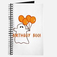 Halloween Birthday Boo Journal