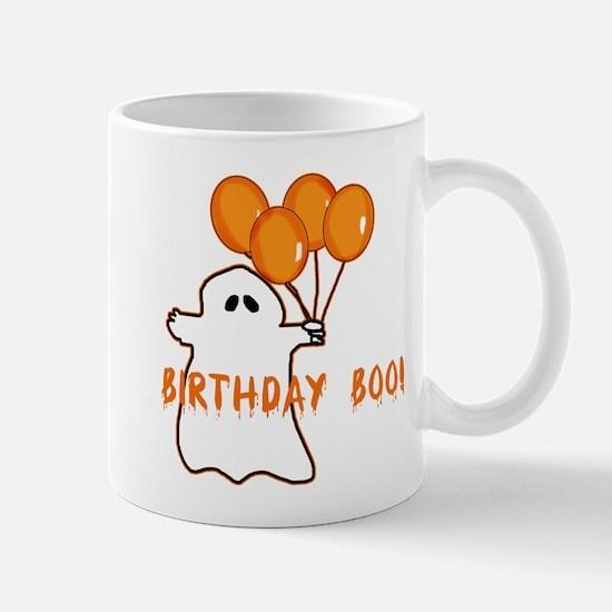 Halloween Birthday Boo Mug
