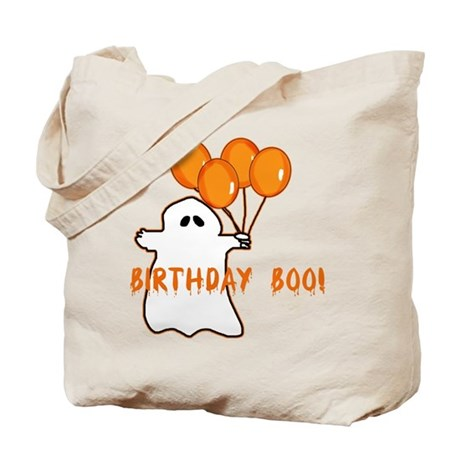 Halloween Birthday Boo Tote Bag