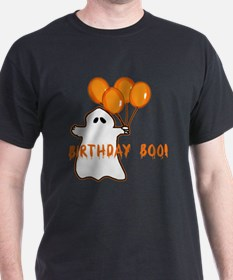 Halloween Birthday Boo T-Shirt