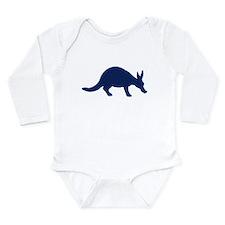 Unique Aardvark Long Sleeve Infant Bodysuit