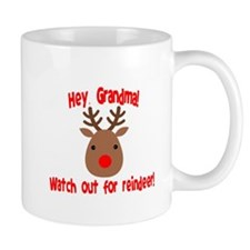 Watch Out for Reindeer Mugs