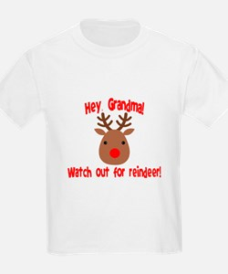 Watch Out for Reindeer T-Shirt