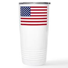 Unique Us flag Travel Mug
