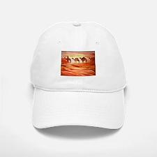 Camels, desert art Baseball Baseball Baseball Cap