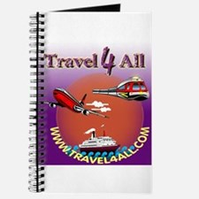 """""""TRAVEL 4 ALL"""" colorized logo (Journal)"""
