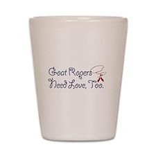 Goat Ropers Shot Glass