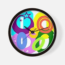 Initial Design (O) Wall Clock