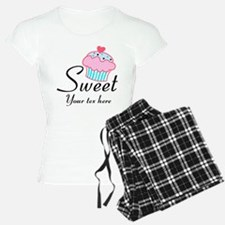 personalized Sweet Cupcake Pajamas