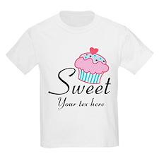 personalized Sweet Cupcake T-Shirt
