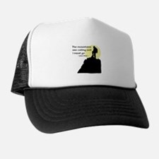 Mountains Calling Trucker Hat