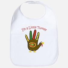 I'm a Little Turkey Bib