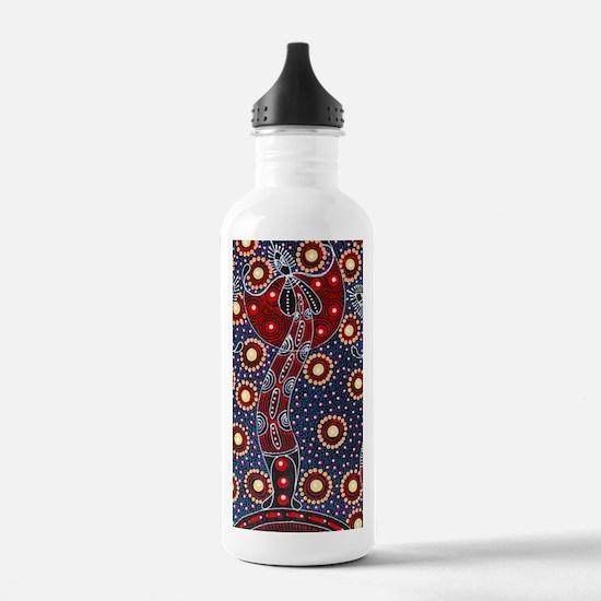 ABORIGINAL ART 4 Water Bottle