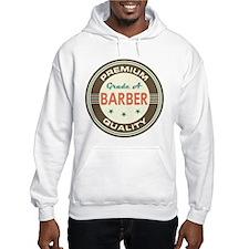 Barber Vintage Jumper Hoody