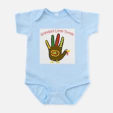 Grandpa's Little Turkey Infant Bodysuit