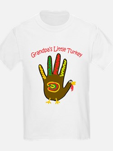 Grandpa's Little Turkey T-Shirt