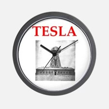 Unique Tesla Wall Clock