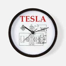 Cool Tesla Wall Clock