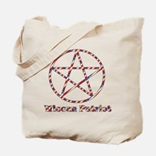 Wiccan Patriot Tote Bag