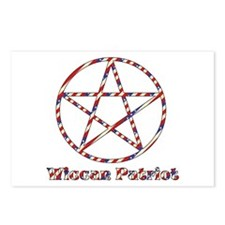 Wiccan Patriot Postcards (Package of 8)