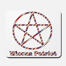 Wiccan Patriot Mousepad