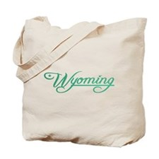 Wyoming State of Mine Tote Bag