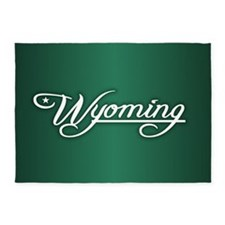 Wyoming State of Mine 5'x7'Area Rug