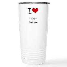 Cute Labor union Travel Mug