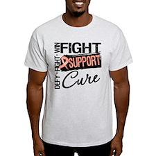 Uterine Cancer Support T-Shirt