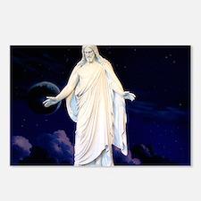 LDS Christus Postcards (Package of 8)