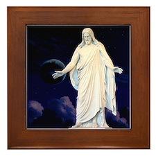 LDS Christus Framed Tile
