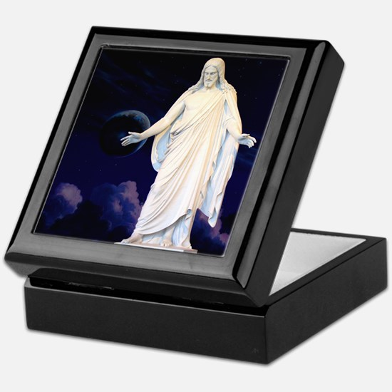LDS Christus Keepsake Box