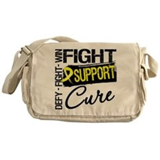 Sarcoma Fight Support Messenger Bag