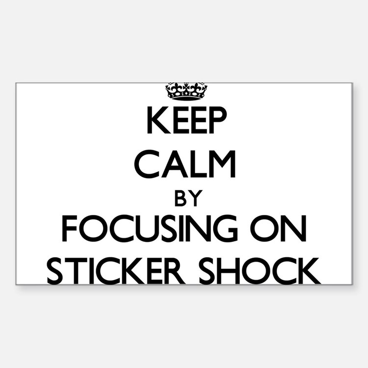 Keep Calm by focusing on Decal Shock Decal