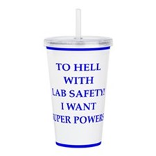 super powers Acrylic Double-wall Tumbler