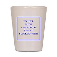 super powers Shot Glass